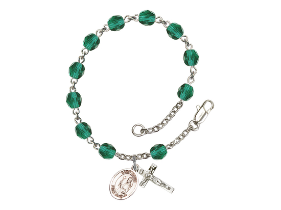 RB6000 Series Rosary Bracelet<br>St. Regis<br>Available in 12 Colors