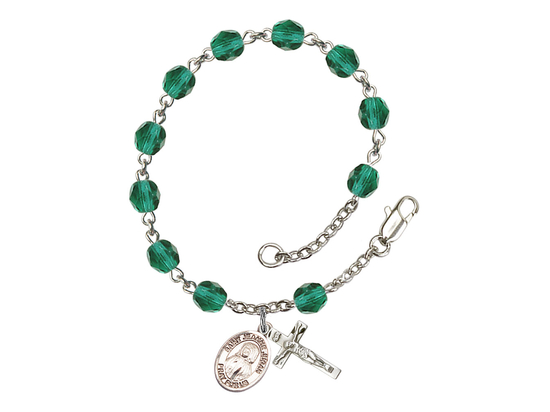 RB6000 Series Rosary Bracelet<br>St. Jeanne Jugan<br>Available in 12 Colors