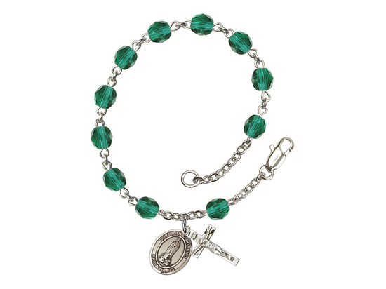 RB6000 Series Rosary Bracelet<br>O/L of Kibeho<br>Available in 12 Colors