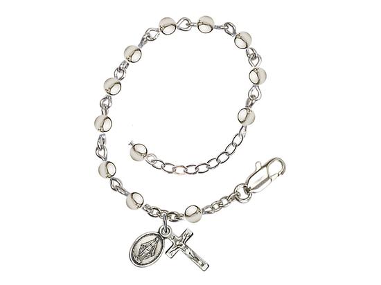 RBI0056 Series Infant Rosary Bracelet