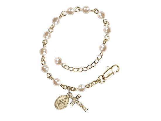 RBI3011 Series Infant Rosary Bracelet