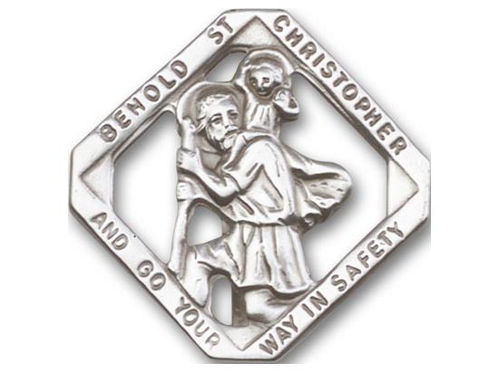St Christopher<br>Visor Clip - 1025V