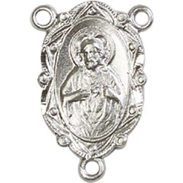Scapular<br>0006CTR - 7/8 x 3/8<br>Rosary Center