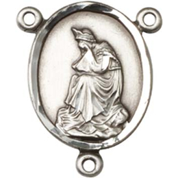 Our Lady of la Salette<br>0057CTR - 3/4 x 5/8<br>Rosary Center