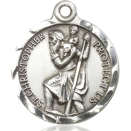St Christopher<br>0192C - 7/8 x 3/4