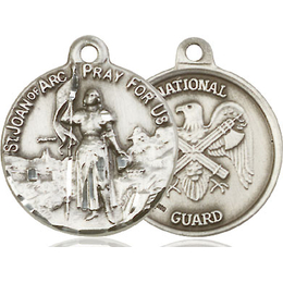 St Joan of Arc National Guard<br>0193--5 - 7/8 x 3/4