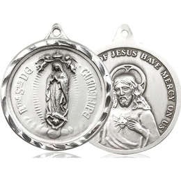 Our Lady of Guadalupe<br>0203F - 1 3/8 x 1 1/4