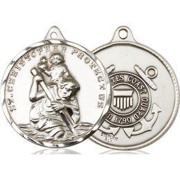 St Christopher Coast Guard<br>0203--3 - 1 1/4 x 1 1/4