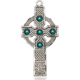 Kilklispeen Cross<br>Emerald Stone