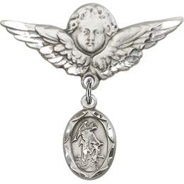 Guardian Angel<br>Baby Badge - 0301E/0733
