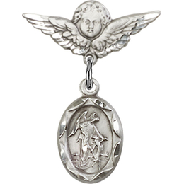 Guardian Angel<br>Baby Badge - 0301E/0735