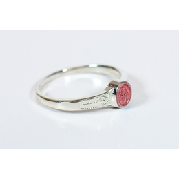 0511PM - Miraculous Ring<br>Pink Epoxy