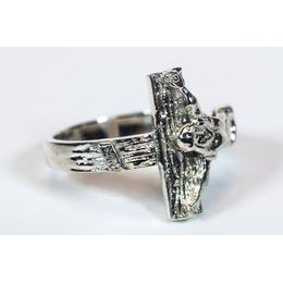 0518 - Crucifix Ring