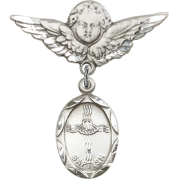 Baptism<br>Baby Badge - 0612BA/0733