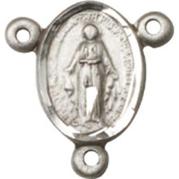 Miraculous<br>0702MCTR - 1/2 x 1/4<br>Rosary Center