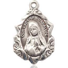 Our Lady of Guadalupe<br>0822F - 3/4 x 1/2