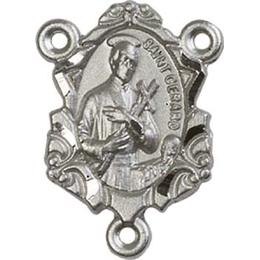 Saint Gerard<br>0822GCTR - 3/4 x 1/2<br>Rosary Center