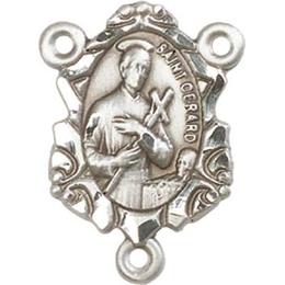 Saint Gerard<br>0882GCTR - 3/4 x 1/2<br>Rosary Center