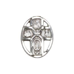5-Way / Holy Spirit<br>0980L - 1/2 x 3/8<br>Lapel Pin