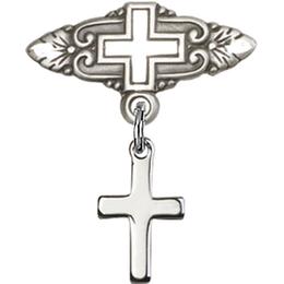 Cross<br>Baby Badge - 1006/0731