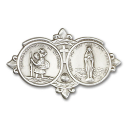 Our Lady of the Highway<br>Visor Clip - 1024V