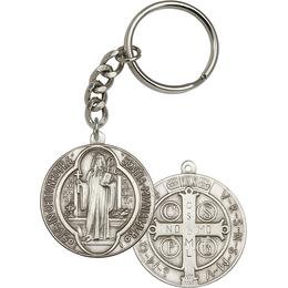 Saint Benedict<br>1057SRC - 1 5/8 x 1 1/2<br>KeyChain