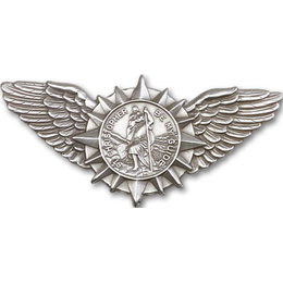 St Christopher Wings<br>Visor Clip - 1067V