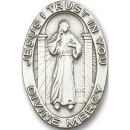Divine Mercy<br>1074V - 1 1/2 x 1<br>Visor Clip