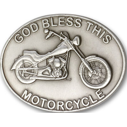 God Bless This Motorcycle<br>Visor Clip - 1075V