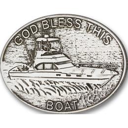 God Bless This Boat<br>Visor Clip - 1078V