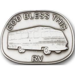 God Bless This Rv<br>1087V - 1 x 1 3/8<br>Visor Clip