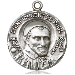 St Vincent de Paul<br>1155 - 3/4 x 5/8