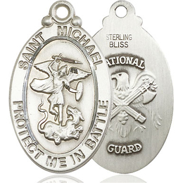 St Michael National Guard<br>1171--5 - 1 1/8 X 1 1/4
