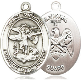 St Michael National Guard<br>1172--5 - 3/4 x 1
