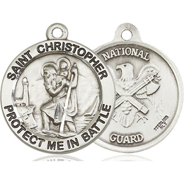 St Christopher National Guard<br>1174--5 - 1 x 1 5/8