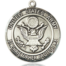 Army St Christopher<br>1182--2 - 1 x 7/8
