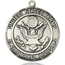 Army St Christopher<br>1183--2 - 3/4 x 3/4