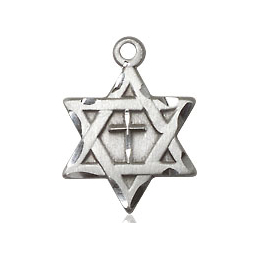 Star of David w/ Cross<br>1211Y - 1/2 x 3/8