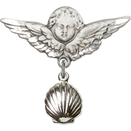 Shell<br>Baby Badge - 1260/0733