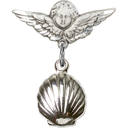 Shell<br>Baby Badge - 1260/0735