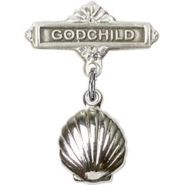 Shell<br>Baby Badge - 1260/0736