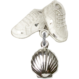 Shell<br>Baby Badge - 1260/5923