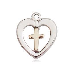 Heart Cross<br>3147 - 1/2 x 3/8