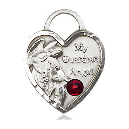 Guardian Angel Heart<br>3402 - 5/8 x 1/2<br>Available in 12 colors