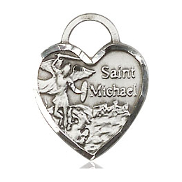 St Michael Heart<br>3403 - 5/8 x 1/2