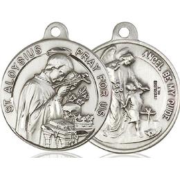 Saint Aloysius<br>Guardian Angel<br>36-108/105 - 7/8 x 7/8