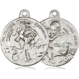Saint Francis of Assisi<br>Saint Anthony<br>36-112/111 - 7/8 x 7/8