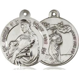 Saint Agnes of Rome<br>Saint Cecilia<br>36-114/124 - 7/8 x 7/8