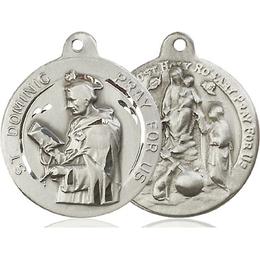 Saint Dominic<br>Holy Rosary<br>36-135/134 - 7/8 x 7/8