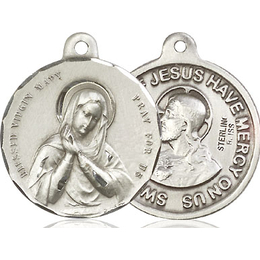 Blessed Virgin<br>Sacred Heart of Jesus<br>36-164/117 - 7/8 x 7/8